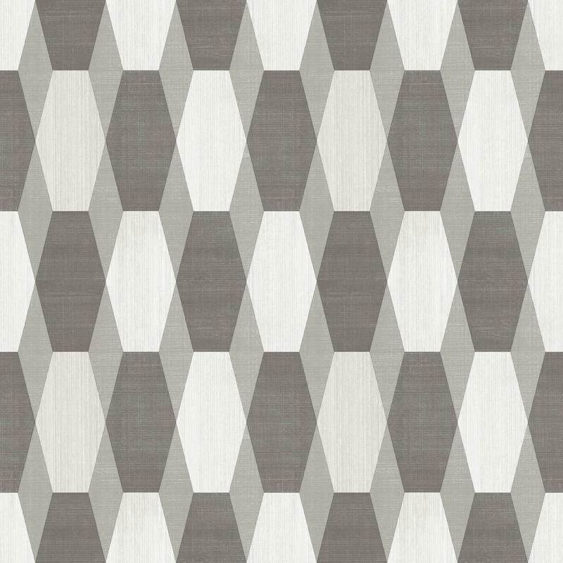v2000309m Tasteful geometric feature in browns and neutrals with glitter highlights