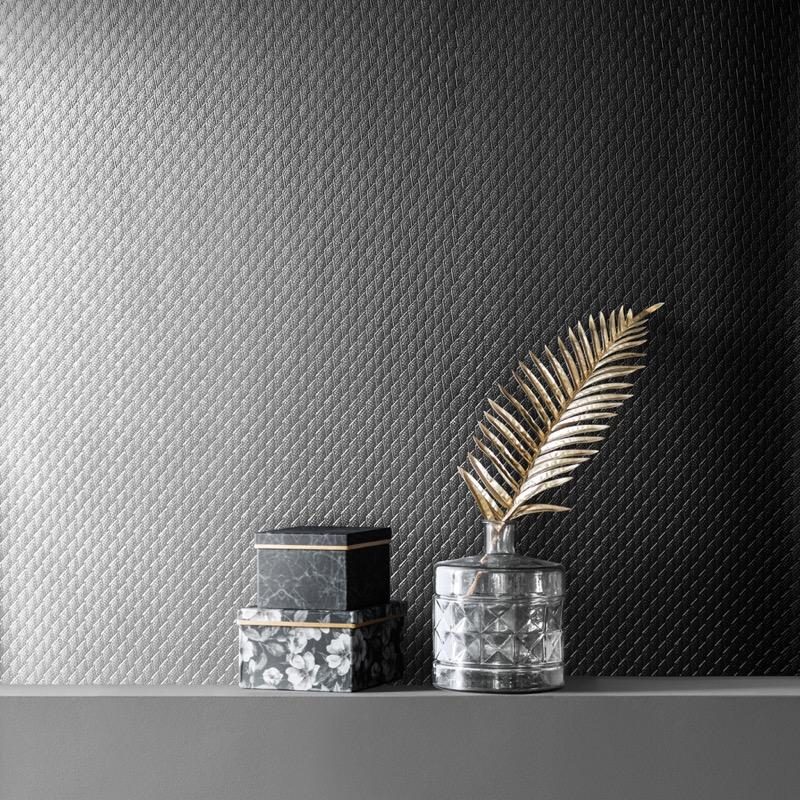 v70100680m Glamorous textured metallic with a subtle geometric design.