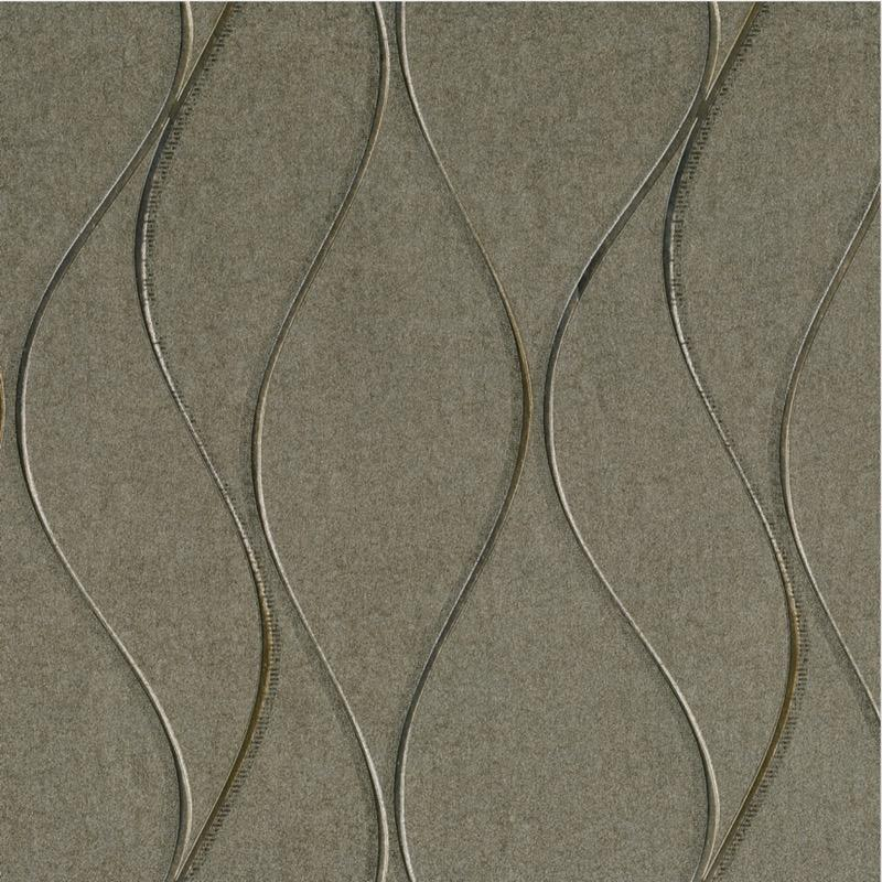 v70133304m Fabulous full metallic texture with mirror chrome wave effect. Super modern feature for any room.