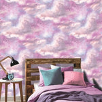 vs26088009a Gorgeous galaxy glitter clouds. Perfect for a bold and stylish feature wall.