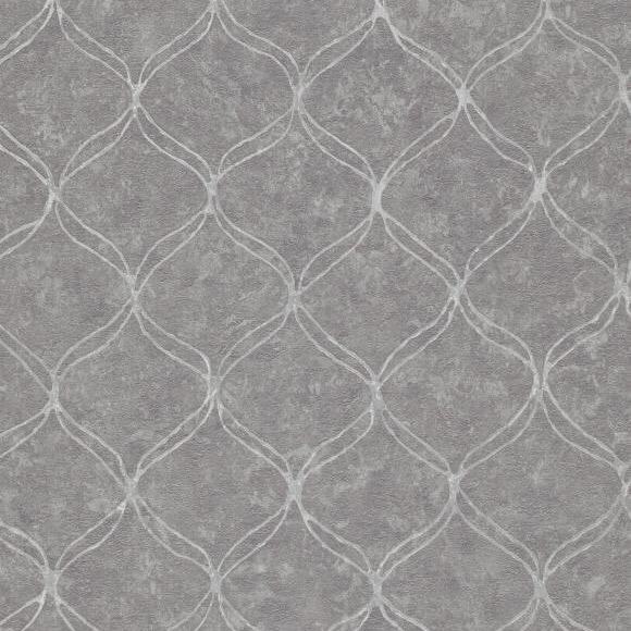 vs63300410e An elegant 'ribbon trellis'. Fabulous, non-woven, paste the wall product,