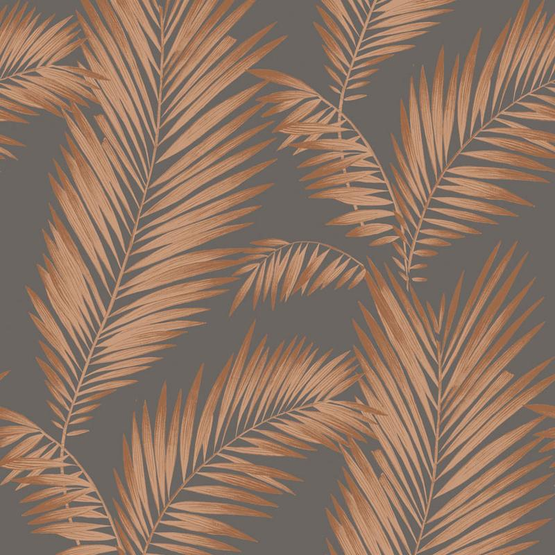 vs67333000a Inspirational palm leaf design. Dramatically dusted with fine metallic glitter, creates a sophisticated shimmering feature.
