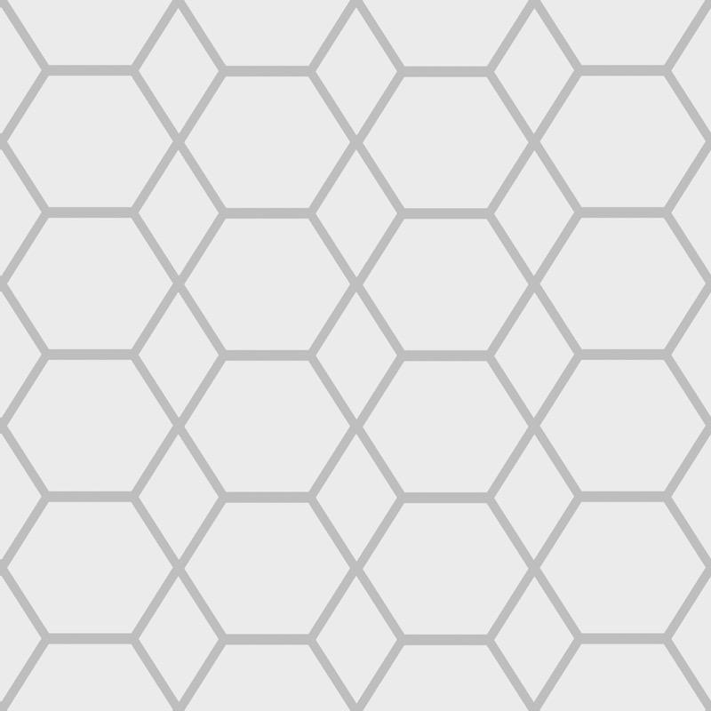 w14700501m Fabulous geometric feature wallpaper in white and silver