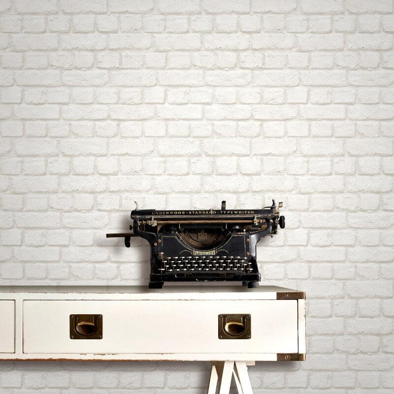 w22622706m Urban loft style brick effect wallpaper