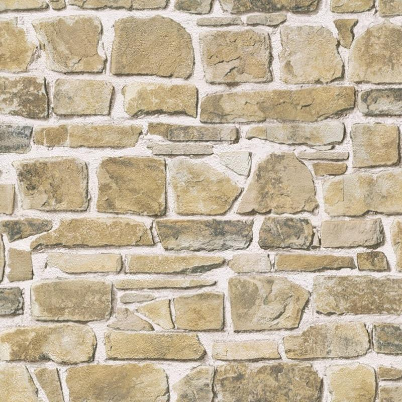 w26544606r sandstone natural brick effect wallpaper