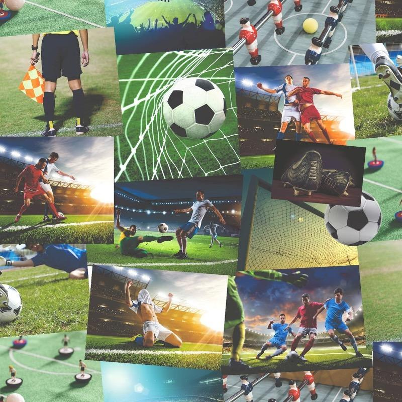 w4155915f really cool digital printed Football feature wallpaper