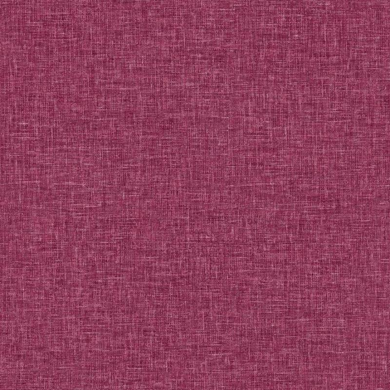 w67688100a Beautiful raspberry linen textured effect wallpaper.