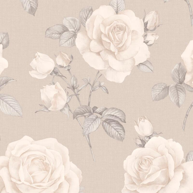 w973368b Beautiful and elegant vintage rose wallpaper