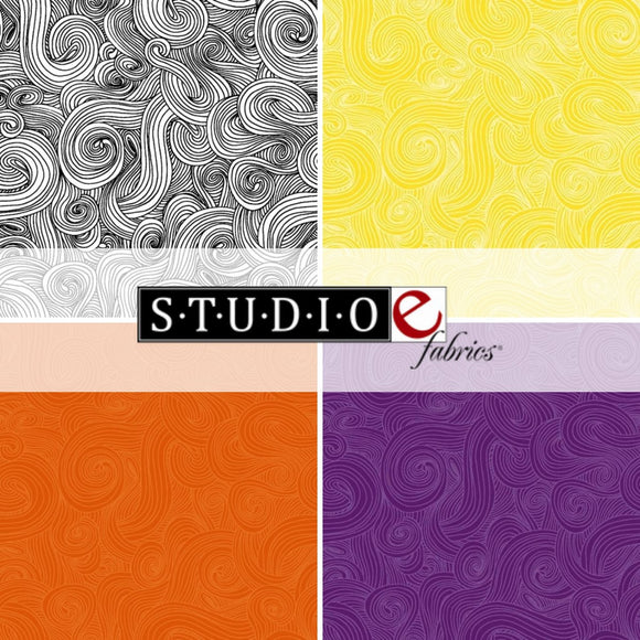 Just Color! Swirl from Studio E Fabrics