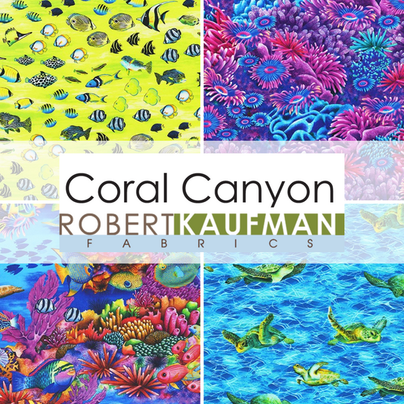 Coral Canyon by Carolyn Steele for Robert Kaufman Fabrics