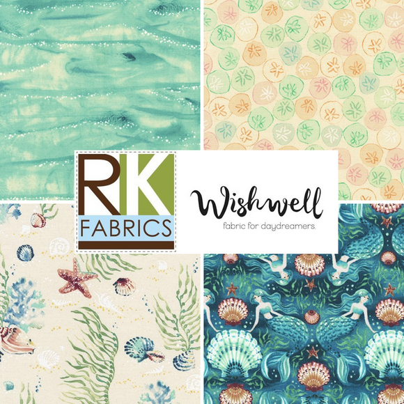 Wishwell: Sunset Coast by Vanessa Lillrose & Linda Fitch for Robert Kaufman Fabrics
