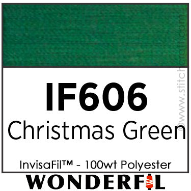 InvisaFil 606 - Christmas Green