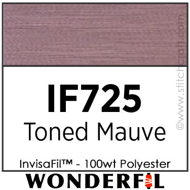 InvisaFil 725 - Toned Mauve