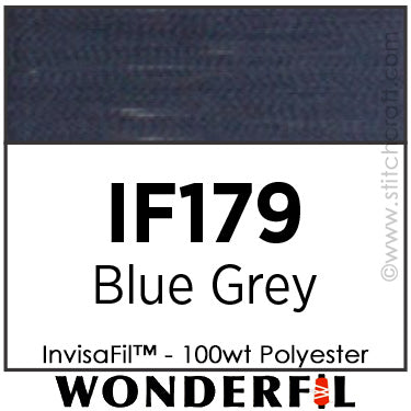 InvisaFil 179 - Blue Grey