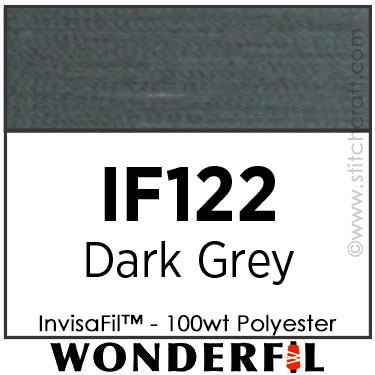 InvisaFil 122 - Dark Grey