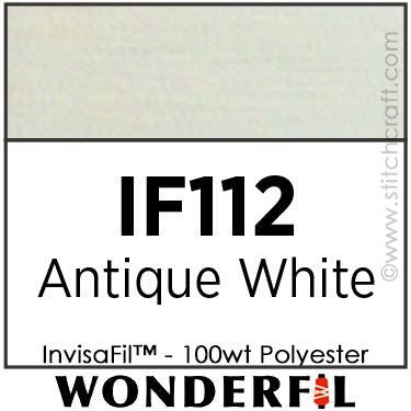 InvisaFil 112 - Antique White