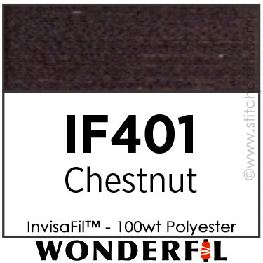 InvisaFil 401 - Chestnut