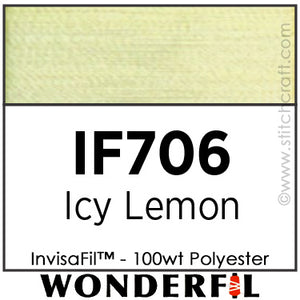 InvisaFil 706 - Icy Lemon