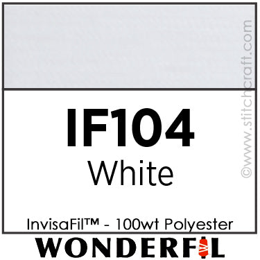 InvisaFil 104 - White