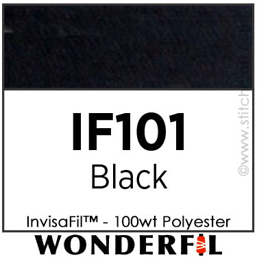 InvisaFil 101 - Black