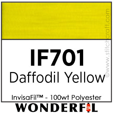 InvisaFil 701 - Daffodil Yellow