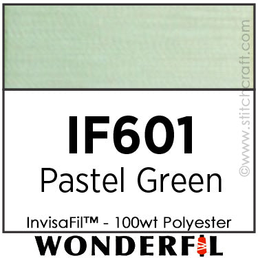 InvisaFil 601 - Pastel Green