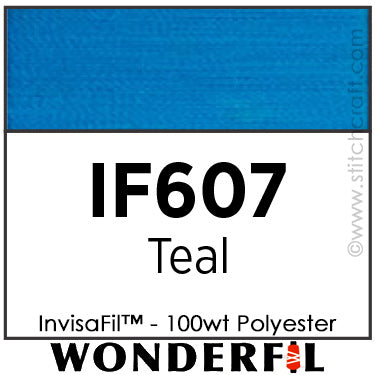 InvisaFil 607 - Teal