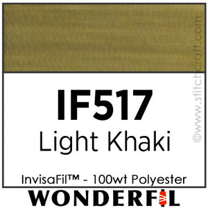 InvisaFil 517 - Light Khaki