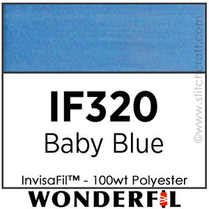 InvisaFil 320 - Baby Blue