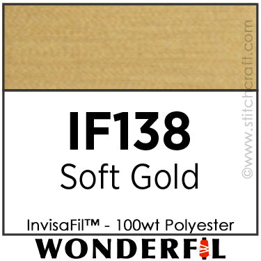 InvisaFil 138 - Soft Gold