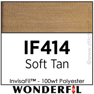 InvisaFil 414 - Soft Tan
