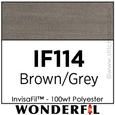 InvisaFil 114 - Brown / Grey