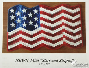 Mini Stars and Stripes Pattern
