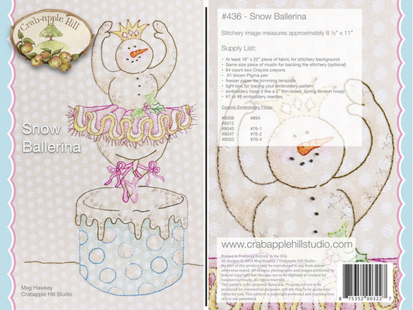 Snow Ballerina Kit with Floss