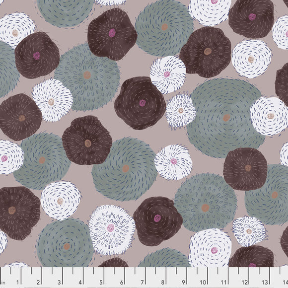 Stitch Flower - Taupe