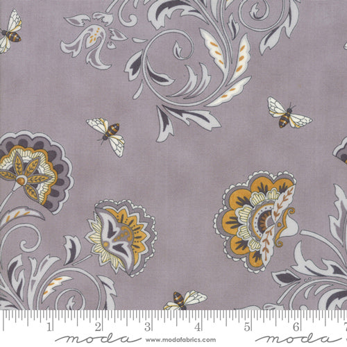 Blooms - Dove Grey