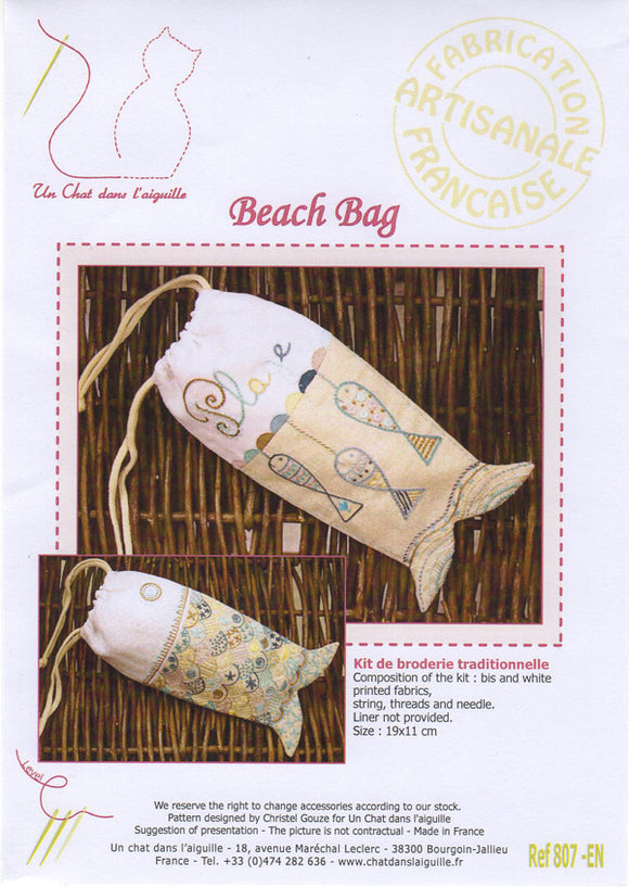 Beach Bag - Embroidery Kit