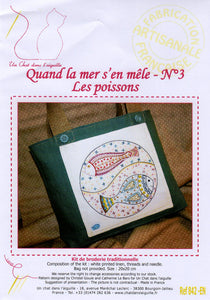 Poissons - Embroidery Kit