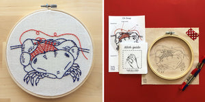 Oh Snap Embroidery Kit