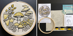 Fungus Among Us Embroidery Kit