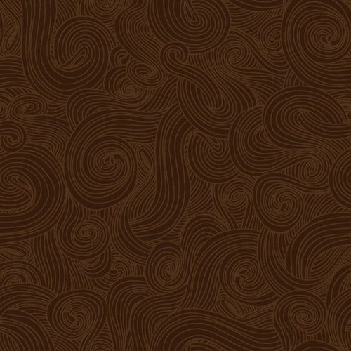 Swirl - Brown