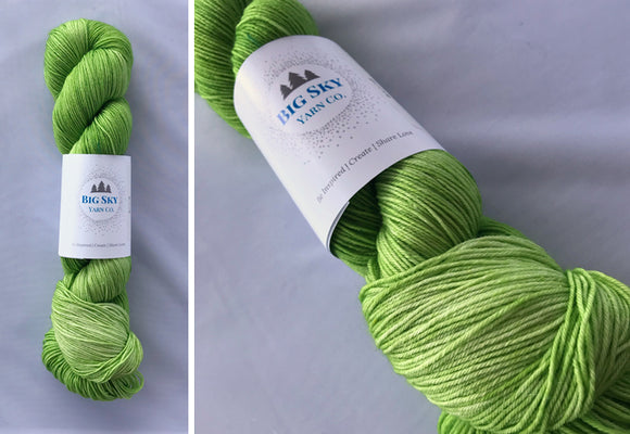 Green Apple - Star Sock