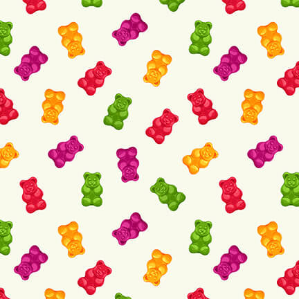 Gummy Bears - Ecru