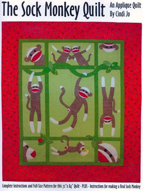 The Sock Monkey Quilt Pattern