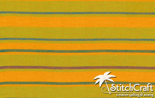 Alternating Stripe - Yellow