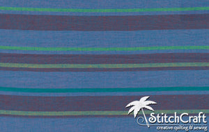 Alternating Stripe - Blue
