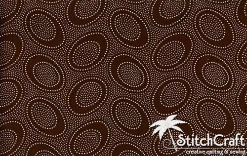 Aboriginal Dot - Chocolate
