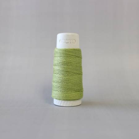 Green Tea Cosmo Hidamari Sashiko Solid Thread 30 Meters