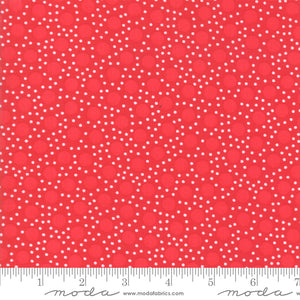 Back Porch Country Red Small Dots Me and My Sister Designs Moda Fabrics