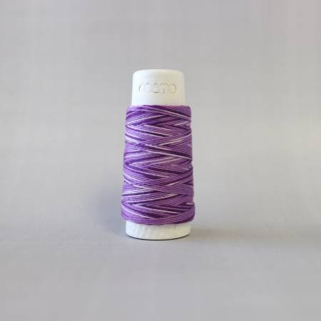 Cosmo Hidamari Sashiko Solid Thread 30 Meters Blueberry Yogurt